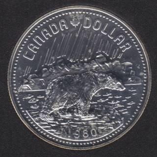 1980 - NBU - Canada Silver Dollar