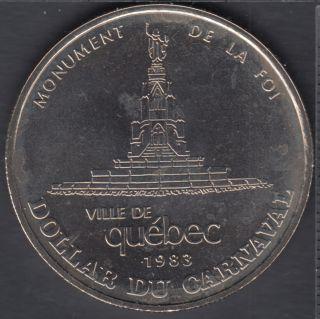 Quebec - 1983 Carnival of Quebec - Eff. 1973 / Monument De le Foi - Trade Dollar