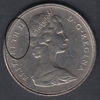 1968 - Die Break - BETH II Attaché -  - Nickel - Canada Dollar