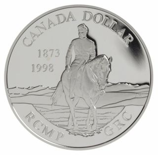1998 Canada - Sterling Silver $1 Dollar Proof RCMP