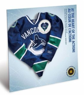 2008 2009 Vancouver Canucks Coin set - $1 Dollar Coloured