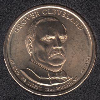 2012 D - G. Cleveland - First Term - 1$