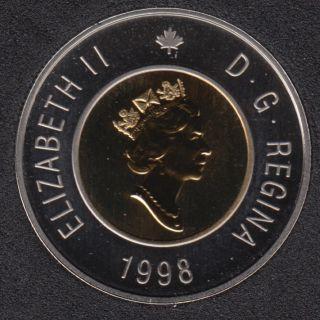 1998 - Specimen - Canada 2 Dollars