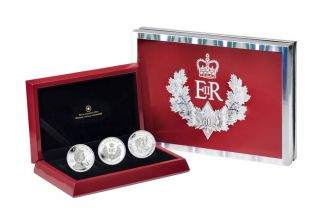 2012 - 3 Coin Set - $20 - Fine Silver Special Coin Set -  Queen Diamond Jubilee