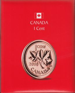 KASKADE Canadian Coin Albums - 1 Cent
