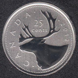 2012 - Specimen - Canada 25 Cents