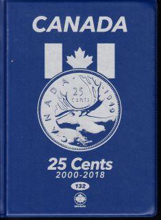 25¢ Album Canada Uni-Safe (Vingt Cinq Cents) 2000 a 2018