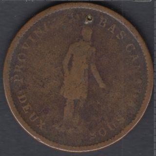L.C. 1837 Banque du Peuple - Penny Token - LC-9C