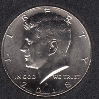 2018 D - 50 Cents