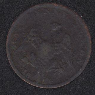 L.C. 1814 Spread Eagle Half Penny Token - LC-54C2