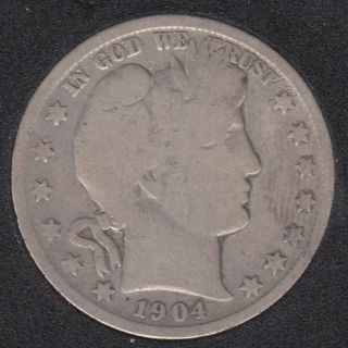 1904 - Barber - 50 Cents
