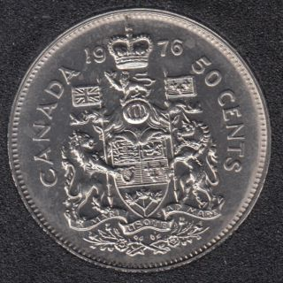 1976 - B.Unc - Canada 50 Cents