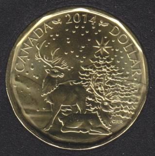 2014 - B.Unc - Christmas - Canada Dollar