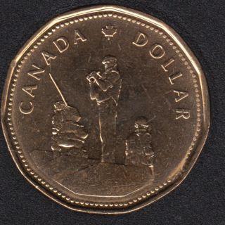 1995 - B.Unc - Peacekeeper - Canada Dollar