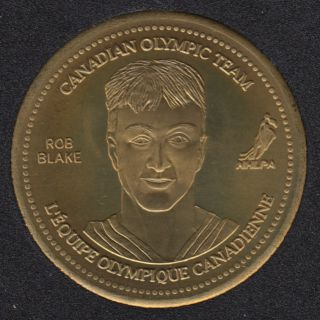 2002 - Coca Cola - Rob Blake - Equipe Canada Olympique