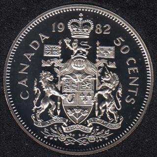 1982 - Proof - Canada 50 Cents