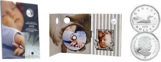 2008 - Baby Lullabies CD and Sterling Silver Dollar $1.00