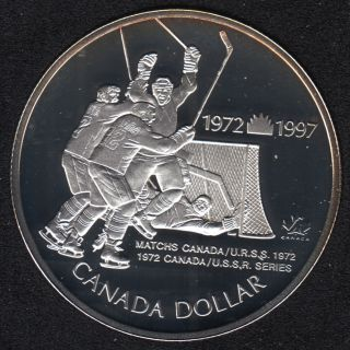 1997 - Proof - Argent - Canada Dollar