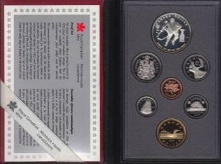 1993 CANADA DOUBLE DOLLAR PROOF SET