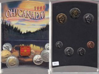 1998 W OH! CANADA ENSEMBLE HORS CIRCULATION