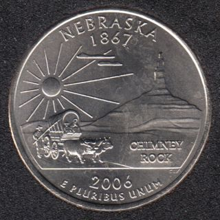 2006 P - Nebraska - 25 Cents
