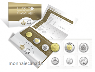 2018 - Classic Canadian Uncirculated 6-Coin Set