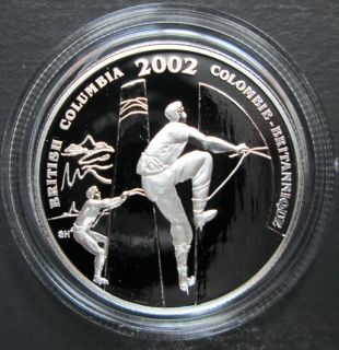 2002 Canada 50 Cents Sterling Silver - Squamish Days Logger Sports