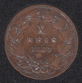 Portugal - 1883 - X Reis