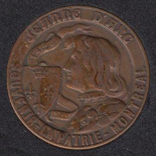 La Patrie Journal - Jeanne D'Arc - Souvenir