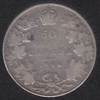 1906 - Fine - Canada 50 Cents
