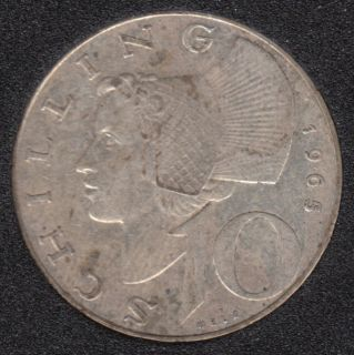 1965 - 10 Schilling - Autriche