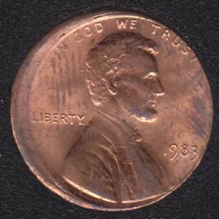 1983 - Off Center - U.S. Cent