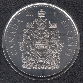 2011 - B.Unc - Canada 50 Cents