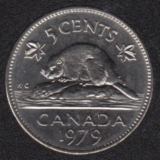 1979 - B.Unc - Canada 5 Cents