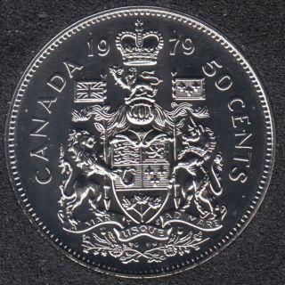 1979 - NBU - Round Bust - Canada 50 Cents