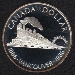 1986 - Proof - Argent - Canada Dollar