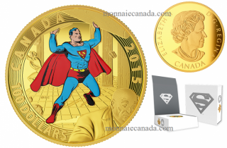 2015 - $100 - 14-Karat Gold Coin - Iconic Superman™ Comic Book Covers: Superman #4 (1940)