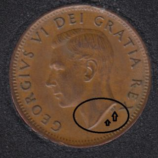 1952 - Double Head & Double HP - Canada Cent