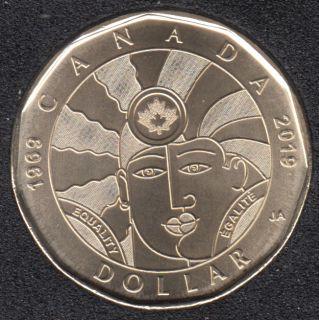 2019 - B.Unc - Égalité - Canada Dollar