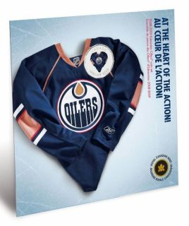 2008 2009 Edmonton Oilers Coin set - $1 Dollar Coloured
