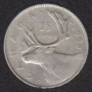 1950 - Canada 25 Cents