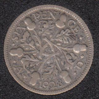 1928 - 6 Pence - Grande Bretagne