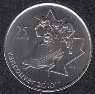 2008 - #4 B.Unc - Bobsleigh - Canada 25 Cents