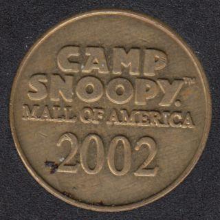 2002 - 1992 - Camp Snoopy - 10 Years of Fun