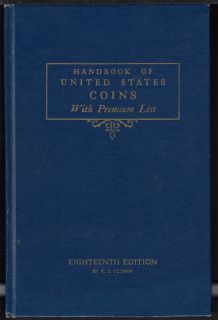 1961 - Handbook of United States Coins with Prenium List - Usagé