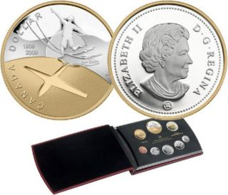 2009 Canada Proof Set - 100th Anniversary of Flight