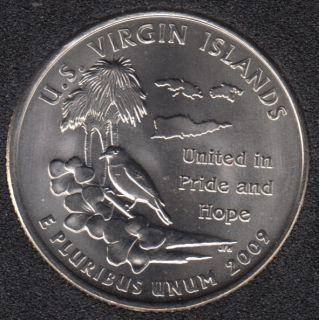 2009 D - Virgin Islands - 25 Cents