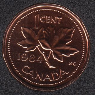 1984 - NBU - Canada Cent