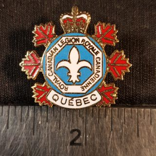 #137 Royale Canadian Legion Royale Canadienne Quebec