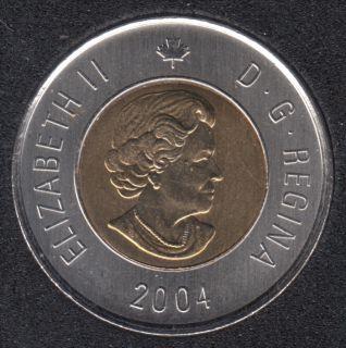2004 - B.Unc - Canada 2 Dollars